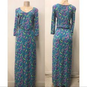 Lilly Pulitzer Floral print maxi dress